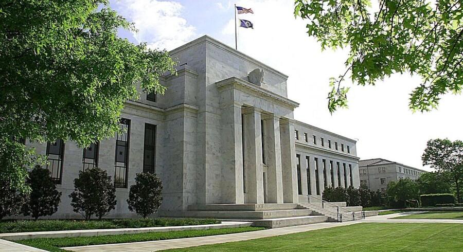 Centralbanken Federal Reserve.