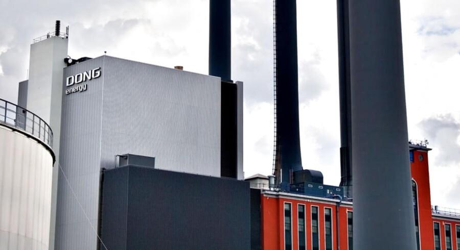 Dong Energys H. C. Ørstedsværket i Sydhavnen.