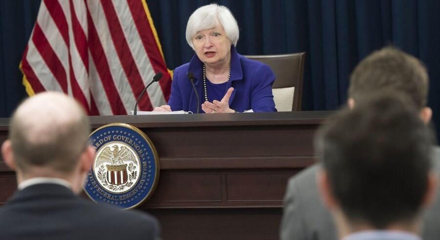 Centralbankchef Janet Yellen hævede onsdag aften dansk tid den amerikanske rente, men der kan kun lang tid, før vi igen ser rentestigninger, vurderer analytiker.