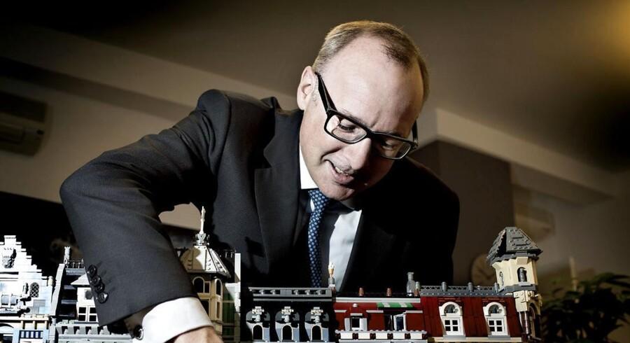 Kirkbi-direktør Søren Thorup Sørensen har de langsigtede briller på med investeringen i servicegiganten ISS.
