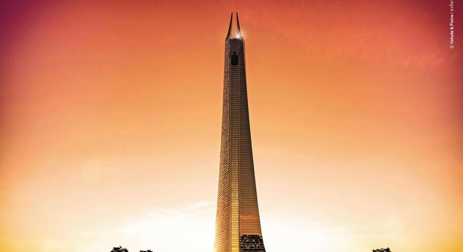 Afrikas højeste skyskraber skal nu bygges i Casablanca, Marokko.