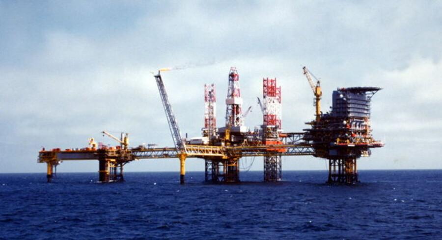 Danmarks olieproduktion, her fra Dan-feltet, vil stille og roligt falde, fordi der ikke er fundet nye oliereserver.