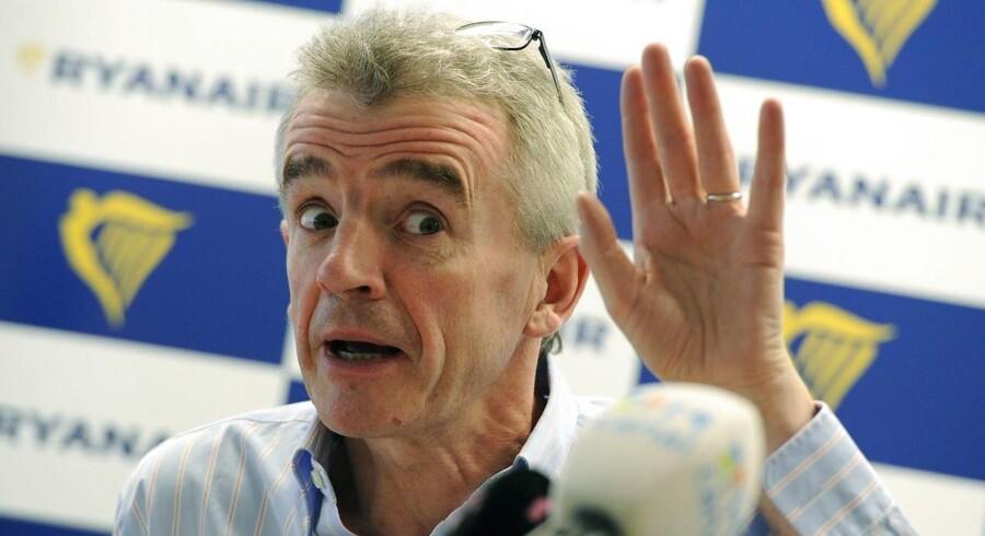 Ryanairs topchef Michael O'Leary
