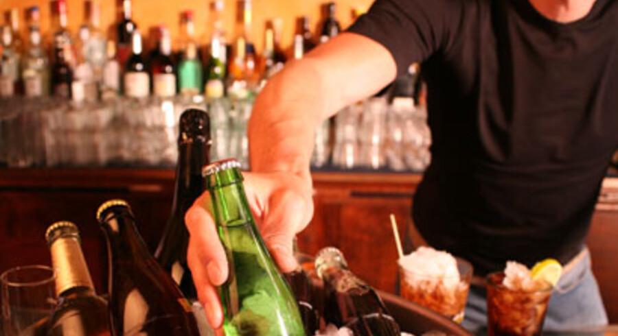 Der serveres gratis drinks for de mest opfindsomme overfusninger.