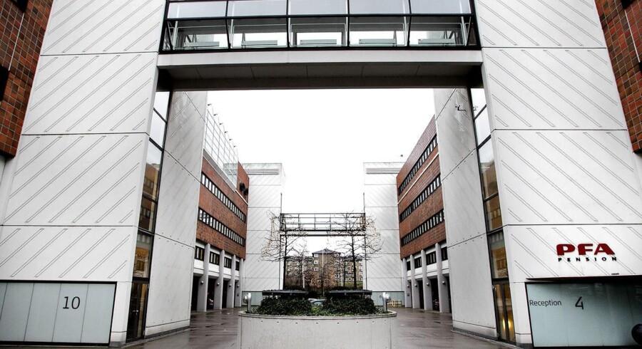 PFA bygningen Marina Park Sundkrogsgade 4 2100 København Ø