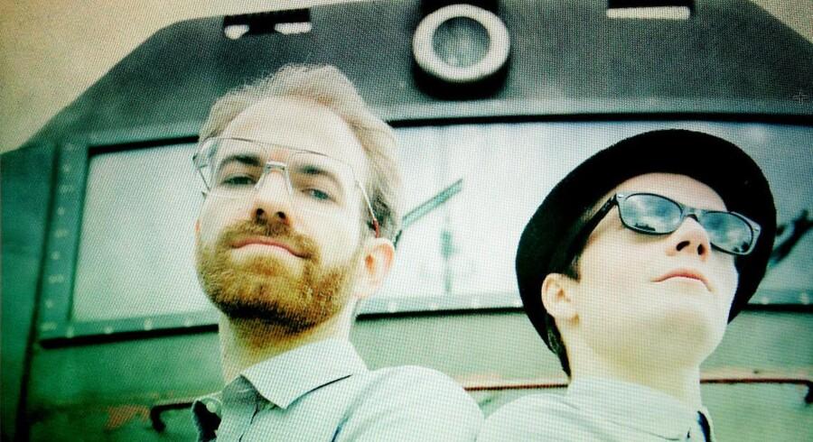 Sylvester Rishøj og Bodie Jahn-Mulliner (med hat) står bag megasuccesen Subway Surfers.