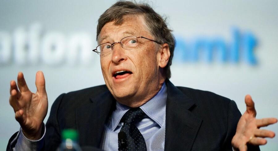Microsoft grundlægger Bill Gates har også startet Giving Pledge, der er en velgørendhedsklub for de superrige.