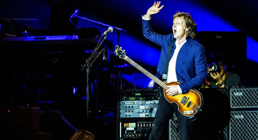 Roskildefestival2015. Paul McCartney på Orange.