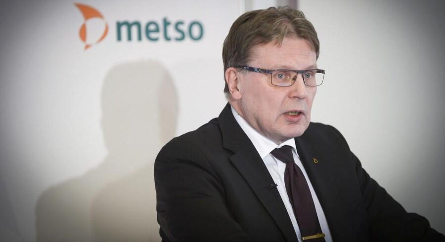"""""""Omsætningen forbliver svag og stort set på samme niveau som i de to forudgående kvartaler i år. En mindre ordrebeholdning lægger pres på omsætningen i den del af forretningen, og det giver en negativ påvirkning af kvartalet,"""" udtaler topchefen Matti Kähkönen i regnskabet."""