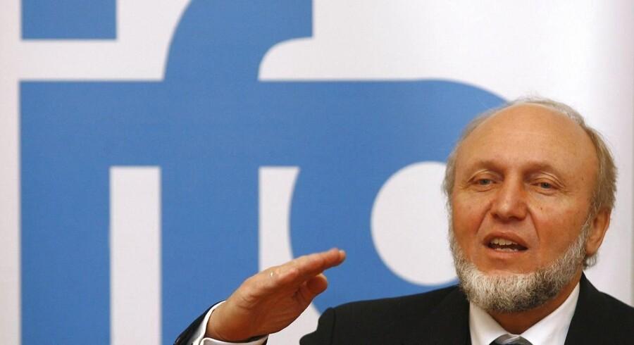 Præsident for det tyske erhvervstillidsindeks Ifo, Hans-Werner Sinn. Arkivfoto.