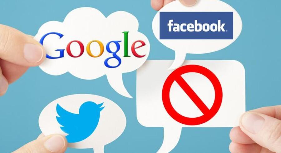 Google, Facebook og Twitter vælger nu at samarbejde for at komme de skadelige internet-annoncer til livs.