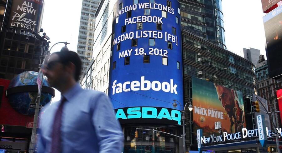 Her bliver dit ansigt vist frem for forbipasserende på Times Square, hvis du vinder Berlingske Business Aktiespil.