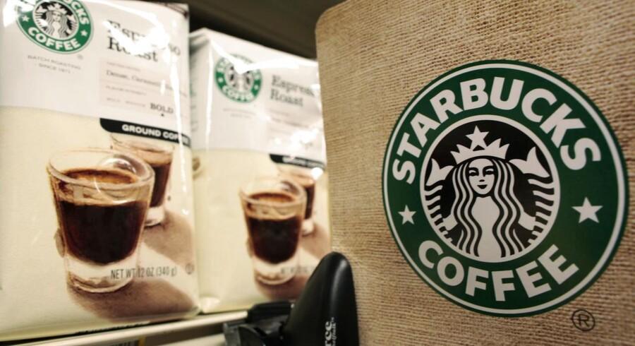 Starbucks Coffee er ikke længere kun forbeholdt rejsende i Kastrup Lufthavn.