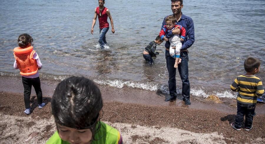 ARKIVFOTO af afghanske flygtninge.