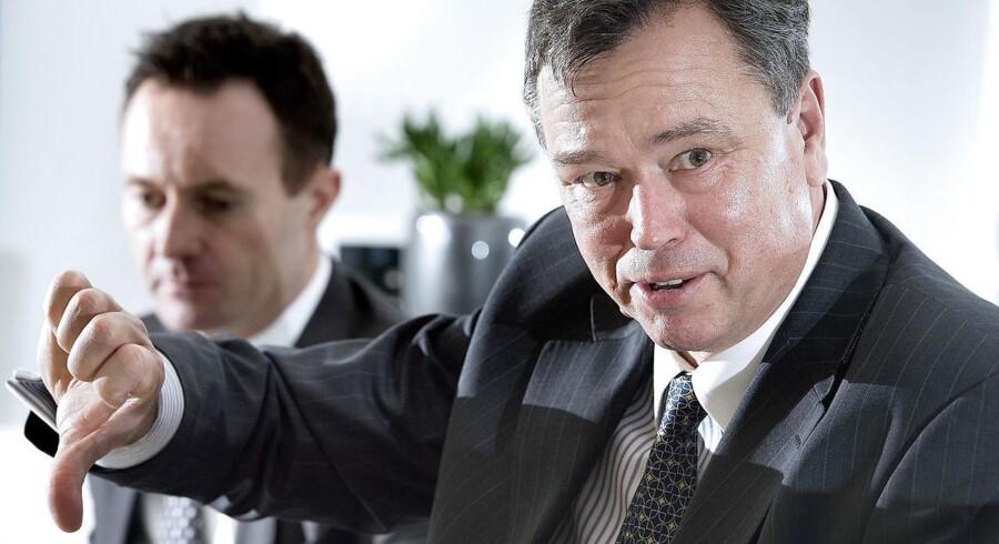 Årets bundskraber: Administrerende direktør Peder Holk Nielsen for Nozozymes er nede med over 22 procent i år