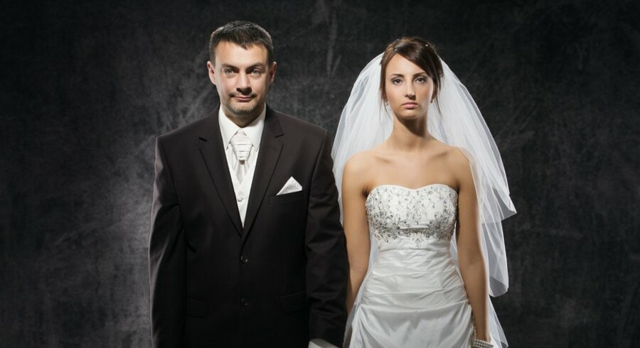 Ægtepar, der oplever, at kærligheden blomstrer af, og problemerne vokser til skilsmissestørrelse, kan ikke dele en livrente. Men sådan burde det være, mener advokater. Arkivfoto: Scanpix