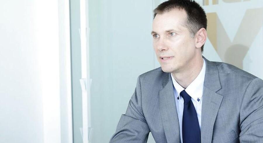 Novo Nordisks patentchef, Lars Kellberg, er lettet over den store opbakning til patentdomstolen. Arkivfoto: Claus Bech, Scanpix