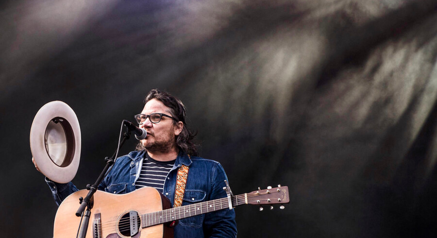 Northside 17.06.2016 På Grøn Scene stod Wilco og spillede for det modne publikum på NorthSide lørdag først på aftenen.. (Foto: Helle Arensbak/Scanpix 2016)