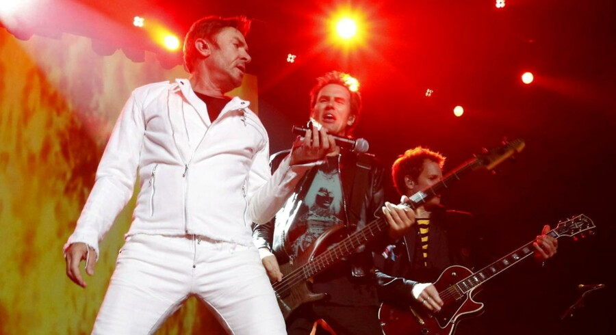 Duran Duran optræder ved Sonar festivallen i Barcelona.