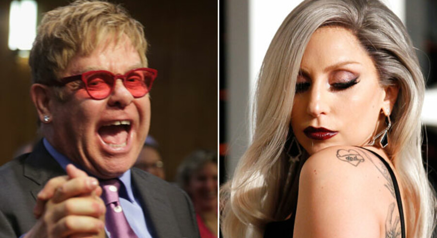 Elton John og Lady Gaga er med i Tivolis koncertprogram for sommeren.