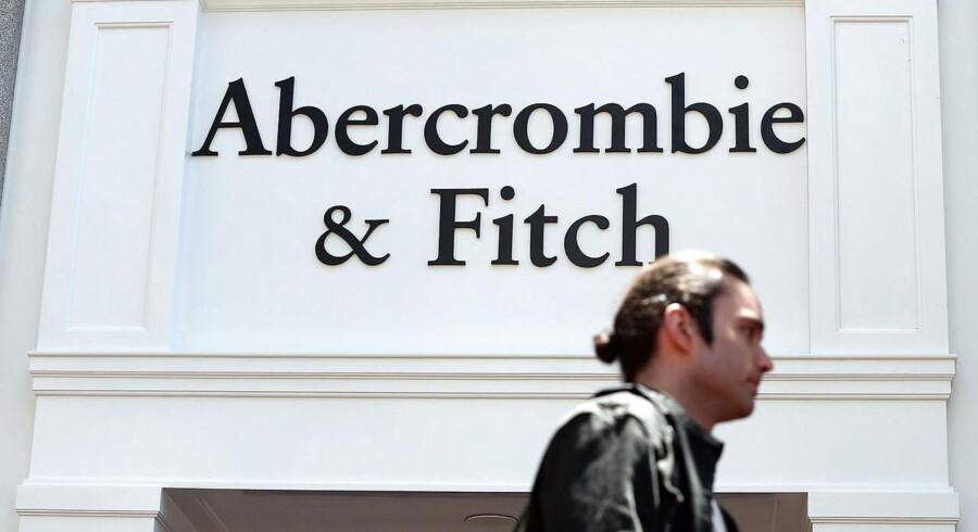 Reklamer for tøjmærket Abercrombie & Fitch kan måske snart være at finde på Amazon.com.