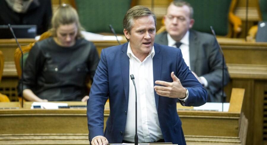 Anders Samuelsen, partileder, Liberal Alliance.