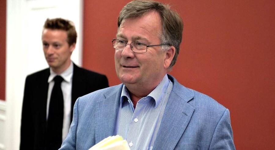 Finansminister Claus Hjort Frederiksen har Nordens største budgetunderskud.