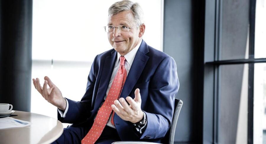 Christian Clausen, koncernchef for Nordea, finder det naturligt at teste mulige afløsere, men vil ikke sige noget om egne fremtidsplaner.