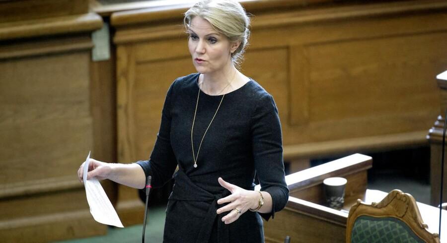 Statsminister Helle Thorning-Schmidt skal igen svare på spørgsmål fra partilederne fra Folketinget.