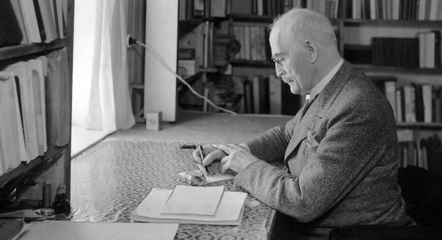 Knut Hamsuns nazistiske sympatier, udelukkede ham fra at være med på den liste som tabloidavisen VG havde sat i værk, om at finde den største nordmand, i forbindelse med 200-års jubilæet for den norske stat. Arkivfoto: Scanpix