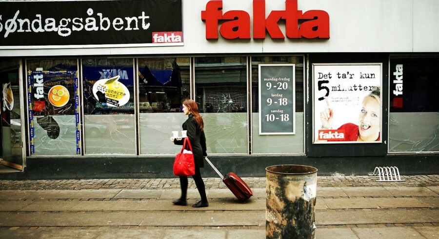 Fakta er en af de discountkæder, der for tiden skyder op rundt omkring i Danmark. Siden 2008 er Fakta vokset med 50 butikker.