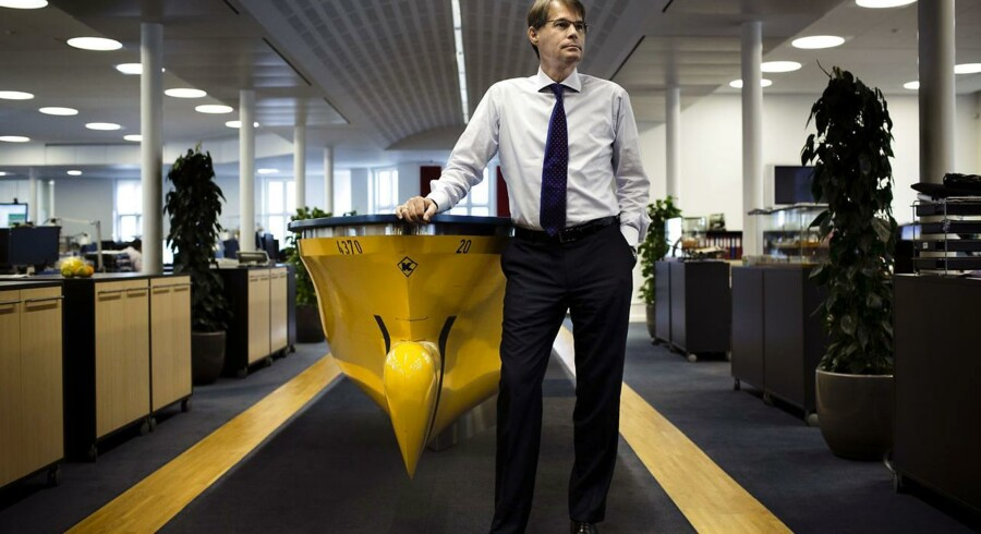 Jan Kastrup-Nielsen,direktør hos rederiet J. Lauritzen.
