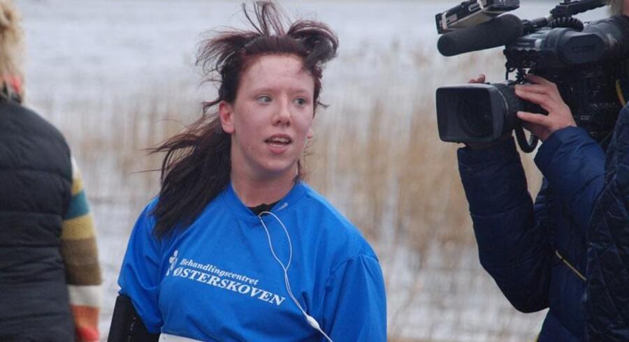Carina Melchior er blevet kendt som pigen, der ikke ville dø. I april gennemførte hun serieløbet Rundt om Søndersø.