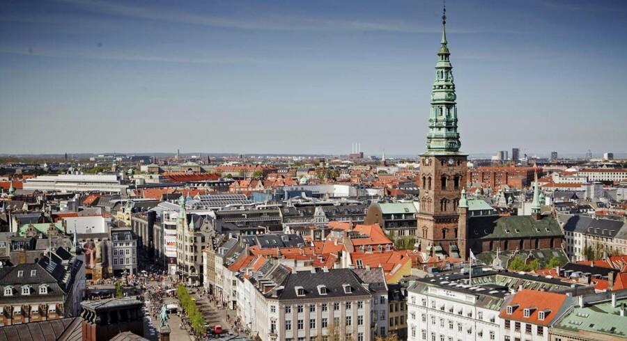 København har de senere år kæmpet for at gøre sig mere attraktiv for erhvervslivet. Men det er omegnskommunerne, der har formået at tiltrække flest virksomheder, viser ny undersøgelse.