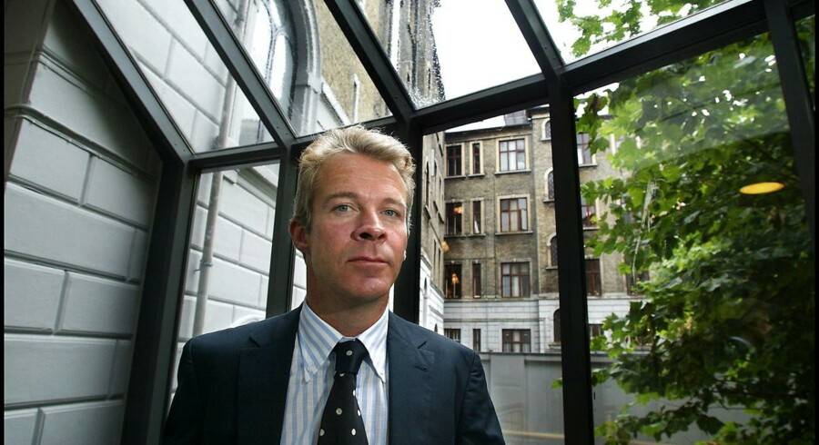Hos DTZ Egeskov & Lindquist med hovedkontor i Silkegade ved Strøget faldt overskuddet med godt en femtedel til fire mio. kr. efter skat. Her ses Jens Lindquist fra DTZ Danmark.
