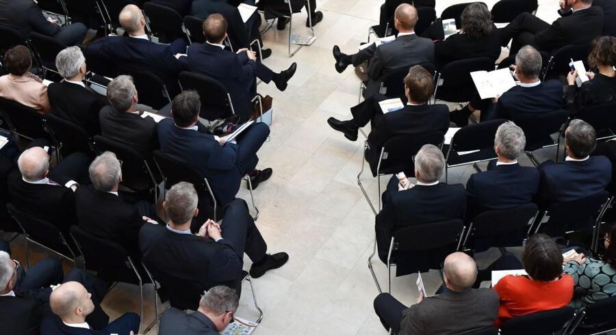 Finansrådet afholder årsmøde på Statens Museum for Kunst mandag d. 7. december 2015.
