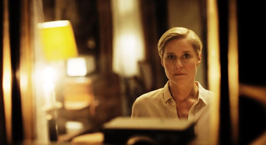 Trine Dyrholms mageløst udtryksfulde ansigt er ankeret i »Arvingerne«. Foto: Martin Lehmann