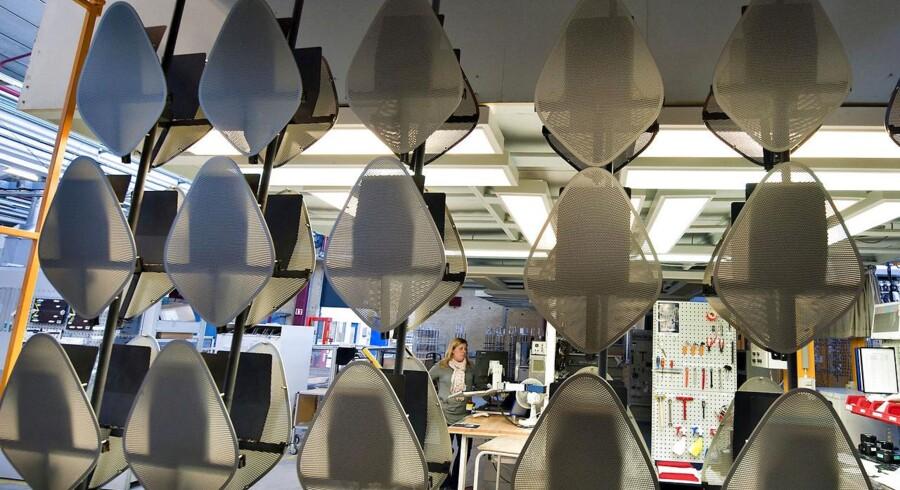 B&O skal have fokus på sit kerneområde med unikt design og unikke lydoplevelser, lyder et analytikerråd til B&O. Billedet er fra en produktionshal i Struer, hvor der bearbejder aluminiumskomponenter til B&Os produkter. Foto Henning Bagger