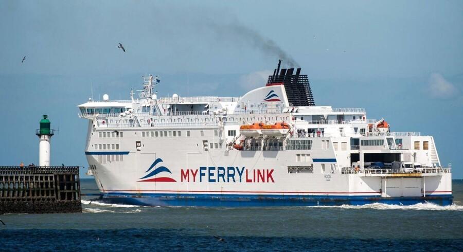 Søslaget på Den Engelske Kanal kan være slut, efter DFDS har indgået en aftale med de franske søfolk, der siden slutningen af juni har skabt kaos i havnen i Calais. Foto: Rodin d. 8. juni 2015.