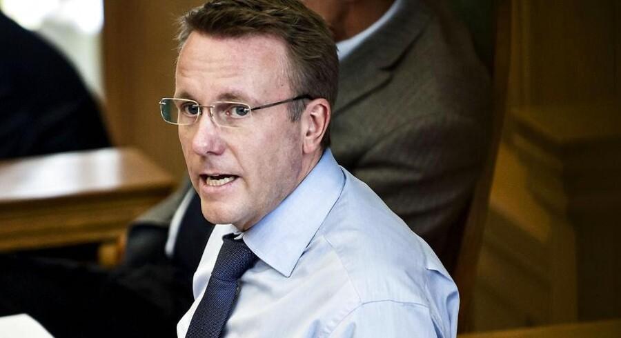 Justitsminister Morten Bødskov.