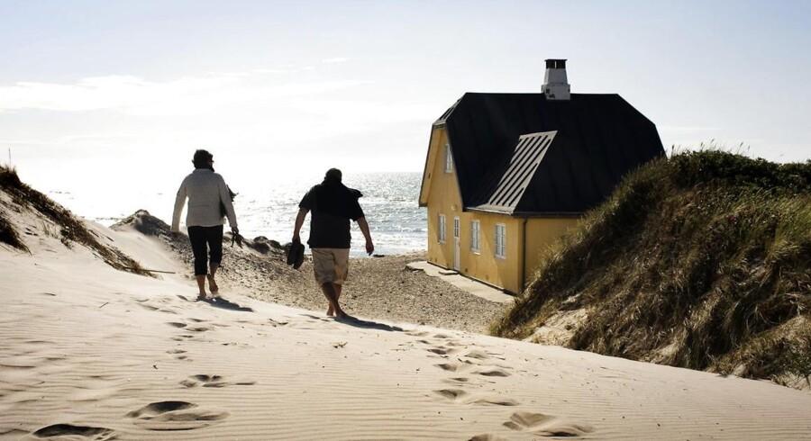 Over 40 procent at de sommerhuse, der er sat til salg, har været det i over et år.