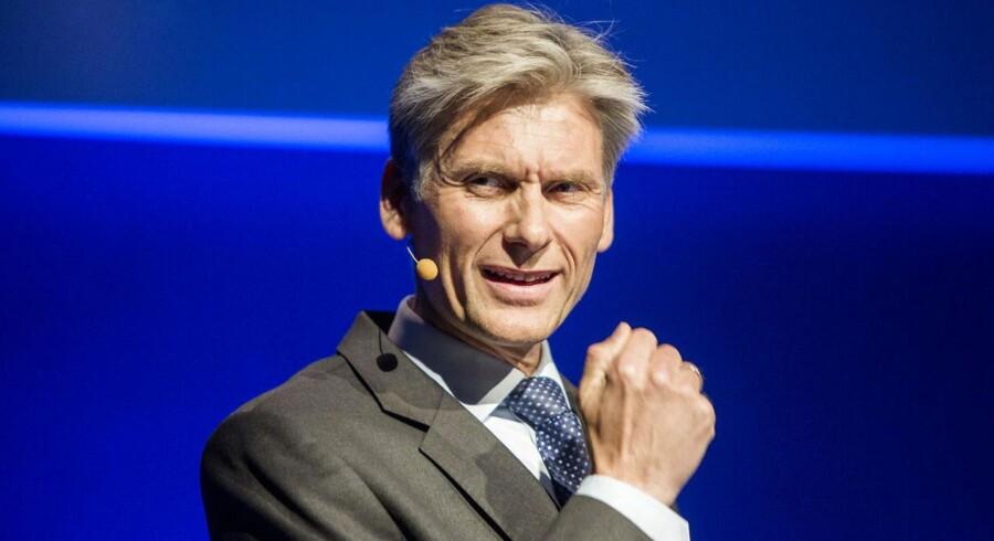 Thomas F. Borgen, adm. direktør i Danske Bank, vil ikke sælge aktiviteterne i Nordirland, da han forudser, at de vil blive værdiskabende for aktionærerne.