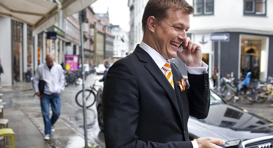 Efter blot et år i SAPs ledelse forlader Lars Dalgaard selskabet for at blive investor. Arkivfoto: Søren Bidstrup