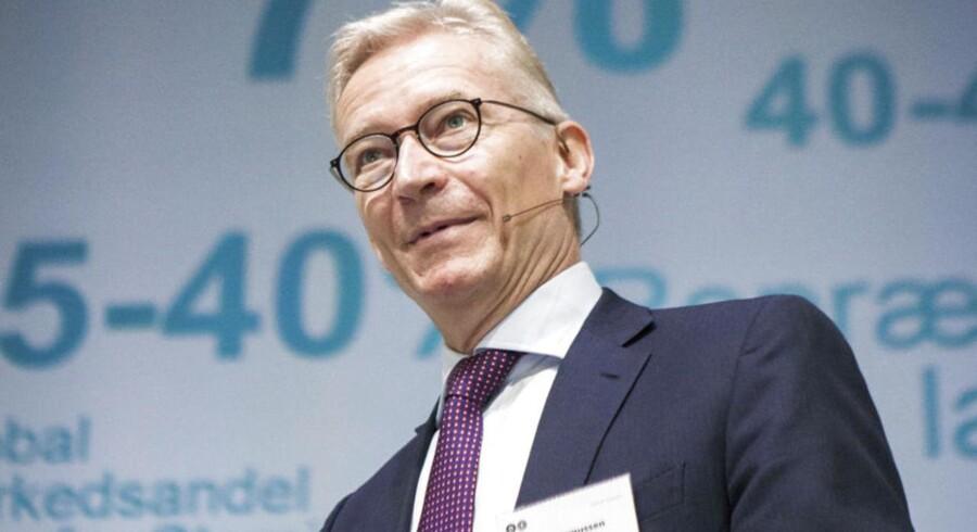 Coloplast topchef Lars Rasmussen kan se tilbage på et regnskabår 2013/14, hvor det lykkedes at sætte fart i toplinjevæksten uden at det gik ud over indtjeningen.