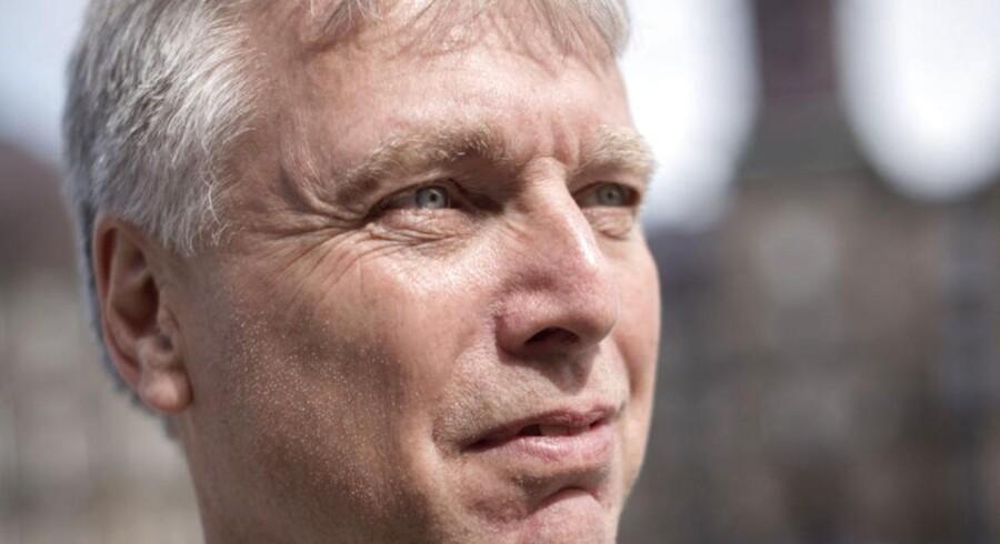 Leder af Alternativet Uffe Elbæk fotograferet på Christiansborg.