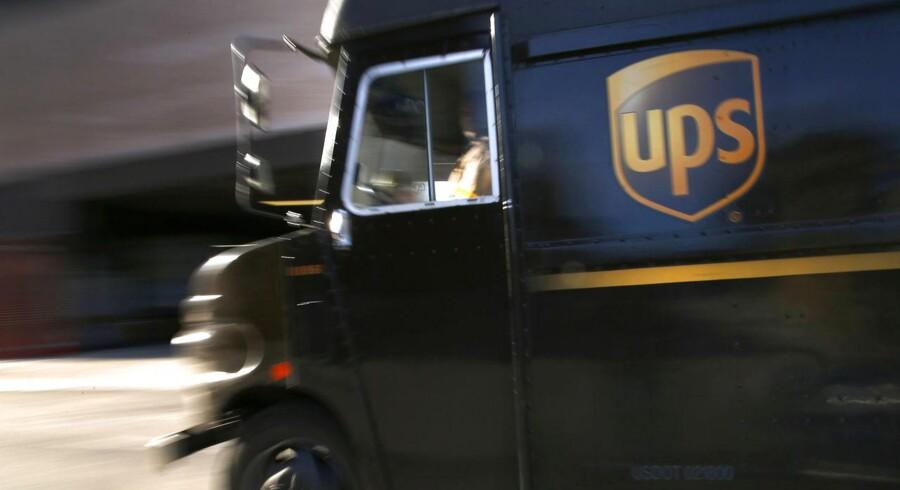 Det amerikanske pakke- og logistikselskab UPS har sat ind med en stærk lobbyindsats.