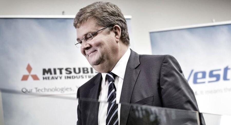 ARKIVFOTO. Vestas administrerende direktør Anders Runevad er særdeles tilfreds med resultaterne i første kvartal.