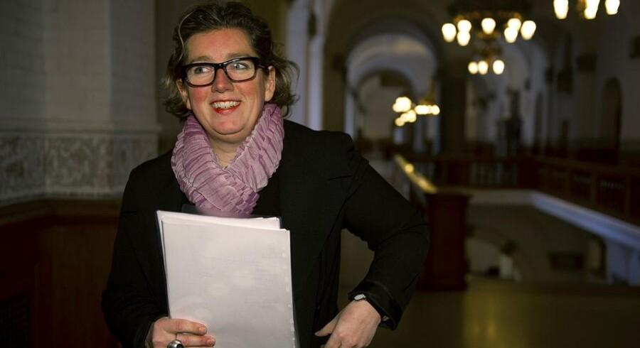 Videnskabsminister Charlotte Sahl-Madsen (K) har som den første minister taget en hjemmearbejdsdag for at bakke det nationale initiativ op. Men det bliver nok den sidste. Arkivfoto: Marie Hald, Scanpix