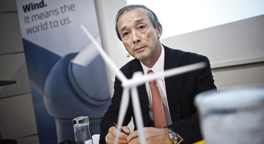 Jin Kato fra Mitsubishi siger til Recharge, at salg af vindmøller skal foregå i samarbejde med Vestas.