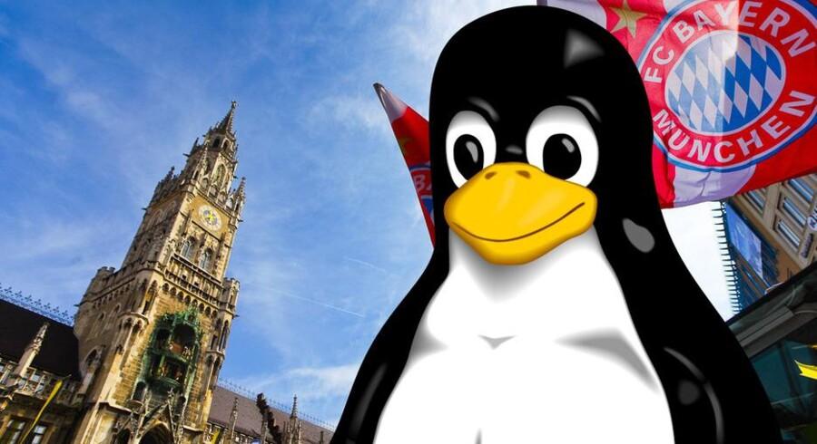 Det kan betale sig at skifte til Linux. Foto: Tim Wang, Larry Ewing, Simon Budig, Anja Gerwinski
